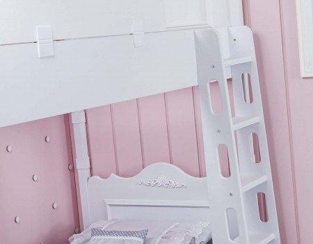 تخت دوطبقه کویین