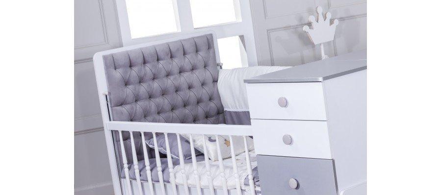 سرویس نوزادی لیوا سفید طوسی
